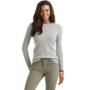 NWT Vineyard Vines Cashmere Blend Sweater XS Light